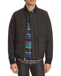 Opening Ceremony Pilot Quilted Grey Jacket - Lyst