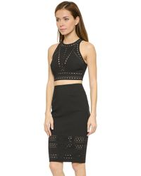 Elizabeth And James New Upton Top - Black - Lyst