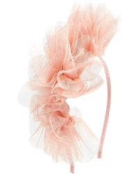 Asos Tulle Flower Fascinator Headband - Lyst