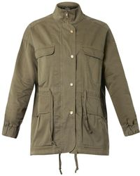 Current/Elliott The Leisure Cotton Parka - Lyst