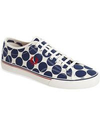 Fred Perry 'Ridley - Dot Print' Sneaker - Lyst