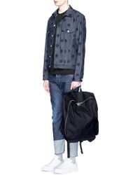 Comme des Garçons - Square Canvas Backpack - Lyst