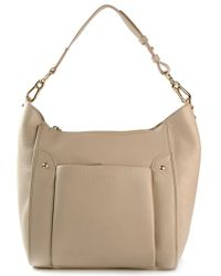 See By Chloé Beige Hobo Tote - Lyst