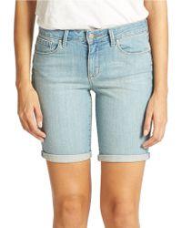 Jessica Simpson Bermuda Denim Shorts - Lyst