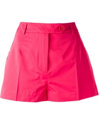 Ermanno Scervino Pleated Shorts - Lyst