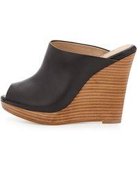 Splendid Brooklyn Leather Mule Slide - Lyst