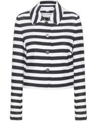 Diane von Furstenberg Lacie Cotton Jacket - Lyst