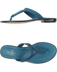 Aldo Brue' | Toe Strap Sandal | Lyst