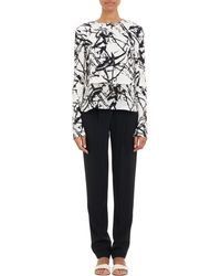 A.L.C. Brushstrokeprint Presley Popover Top - Lyst