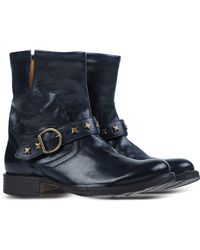 Fiorentini + Baker | Studded Leather Ankle Boots | Lyst