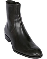 Mr. Hare Zip Up Leather Chelsea Boots - Lyst