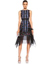 Peter Pilotto Flame Dress - Lyst