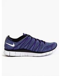Nike Men'S Free Flyknit Nsw Sneakers - Lyst