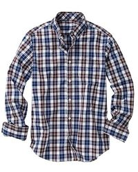 Gap Clean Worth Plaid Shirt - Lyst