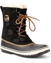 Sorel Black Pac Grapic 13 Snow Boots - Lyst