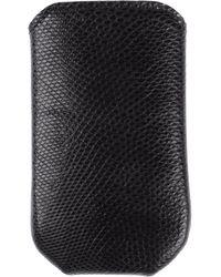 Zagliani Cell Phone Case - Lyst