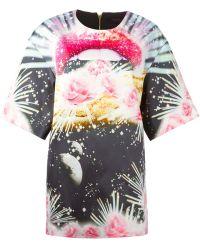 Manish Arora Printed Shift Dress - Lyst