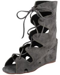 Jeffrey Campbell Romilly gray - Lyst
