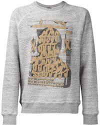 Marc Jacobs | Graffiti Print Sweatshirt | Lyst
