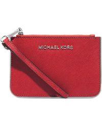 Michael Kors Michael Specchio Jet Set Travel Small Wristlet - Lyst