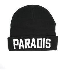 Eleven Paris Black Paradis Beanie - Lyst