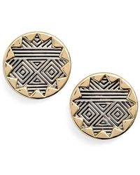 House of Harlow 1960 - 1960 'sunburst' Button Earrings - Lyst