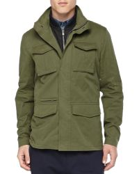 Vince 3-In-1 Military Jacket - Lyst