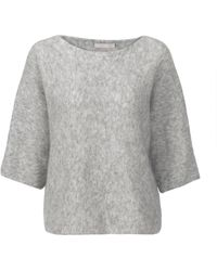 Stefanel Stretch Mohair Kimono Sweater - Lyst