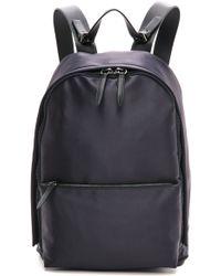 3.1 Phillip Lim - Tech Sateen Backpack Navy - Lyst