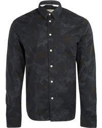 Uniforms for the Dedicated - Black Paint Splash Shirt - Lyst