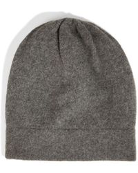 DKNY - Cashmere Slouch Hat - Lyst