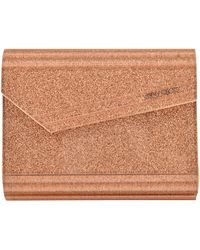 Jimmy Choo Clutch Glitter Candy - Lyst