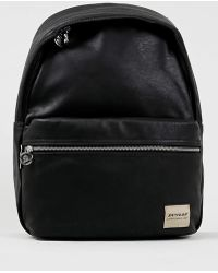 Topman Black Dunlop Backpack - Lyst