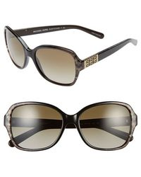 Michael Kors Collection 57Mm Sunglasses - Lyst