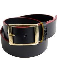 Meryn - The Marlow Belt Black & Red - Lyst