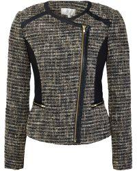 Cc Tweed Jacket - Lyst