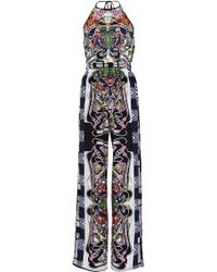 Clover Canyon - Swirling Scarf Printed Jersey Jumpsuit - Lyst