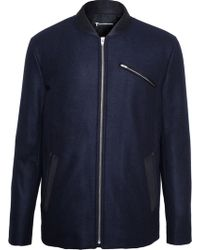 T By Alexander Wang Padded Bomber Jacket - Lyst