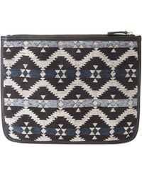 Forever 21 | Southwestern-patterned Clutch | Lyst