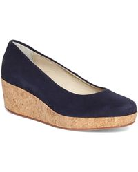 Brooks Brothers Cork Wedges - Lyst
