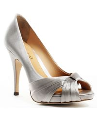 Boutique 9 Udell Pump silver - Lyst