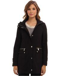 DKNY Hooded Anorak Soft Shell Jacket Y4 - Lyst