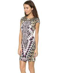Just Cavalli Tie Dye Print Dress Multi - Lyst