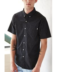 Urban Outfitters Obey Cass Short Sleeve Button Down Shirt - Lyst