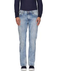 0/zero Construction | blue Denim Trousers | Lyst