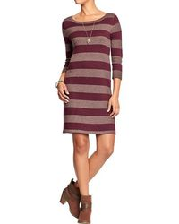 Old Navy Rugbystripe Sweater Dresses - Lyst