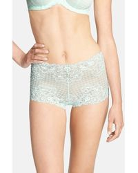 Panache Women'S 'Envy' Lace Boyshorts - Lyst