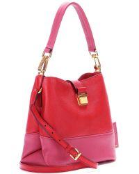 Miu Miu Leather Shoulder Bag - Lyst