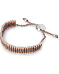 Links of London - Friendship Bracelet Copper/Grey - For Women - Lyst