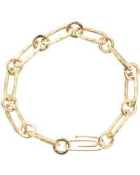 Aurelie Bidermann | Hammered Chain Bracelet | Lyst